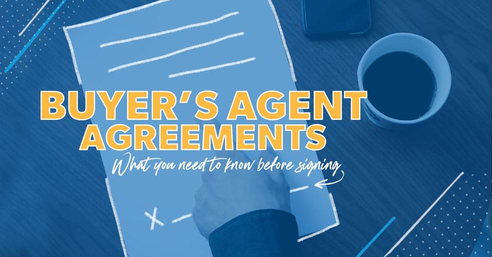 Buyer's agent agreements.