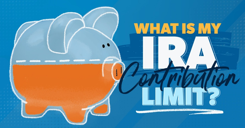 What is my IRA contribution limit?