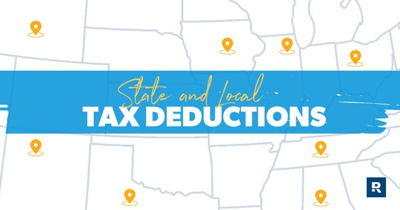 State and local tax deductions displayed on the map.