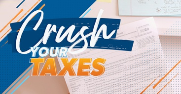Crush your taxes tax season 2021.
