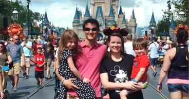 a family at Walt Disney World Resort