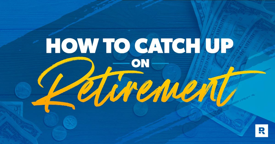 Chris Hogan speaking on how to catch up on retirement.