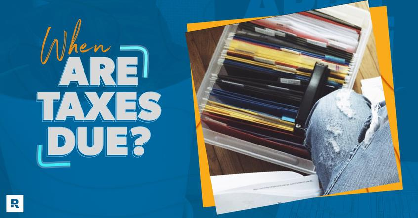 Filing bin to organize taxes