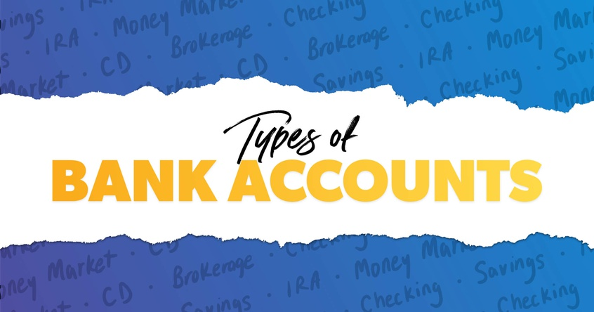 4 types of bank accounts