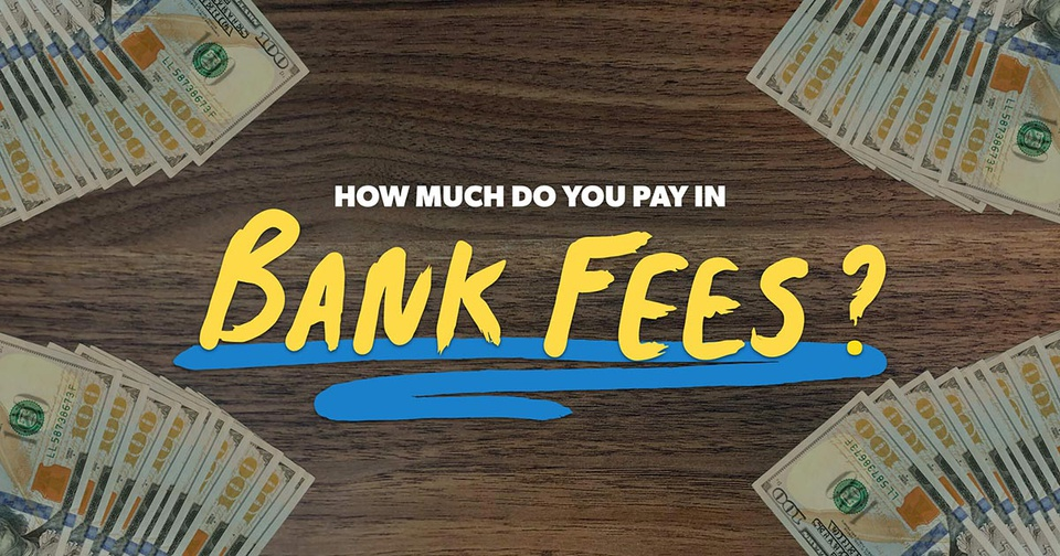 How much to you pay in bank fees?