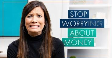 Rachel Cruze looking worried about money