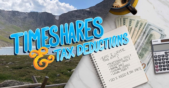 timeshares and tax deductions