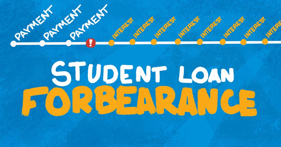 what is student loan forbearance