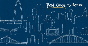 Outlines of the best cities to retire.