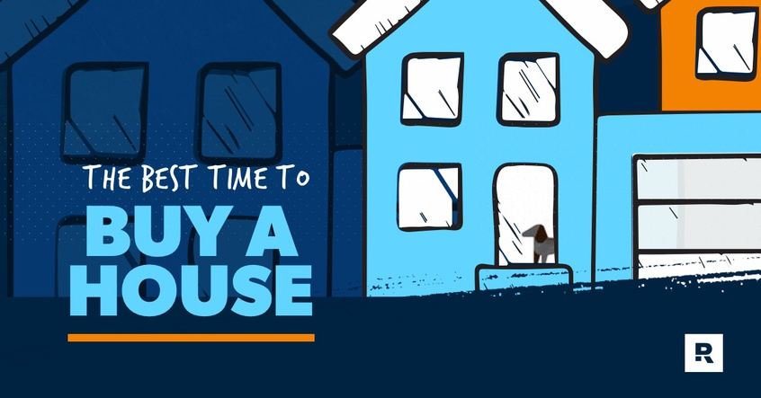 Best time to buy a house.