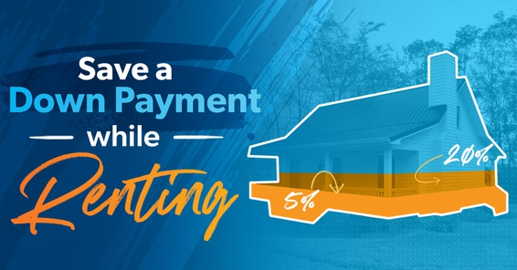 Dave Ramsey down payment tracker hanging on a fridge.