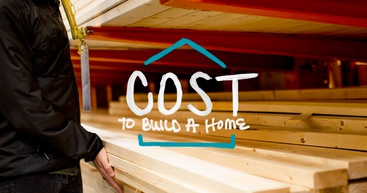 Man checking home building supplies to find the cost of building a house.