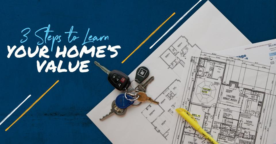 Blueprints to a house to determine the value of a home.