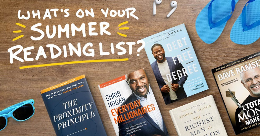 What's on your summer reading list?