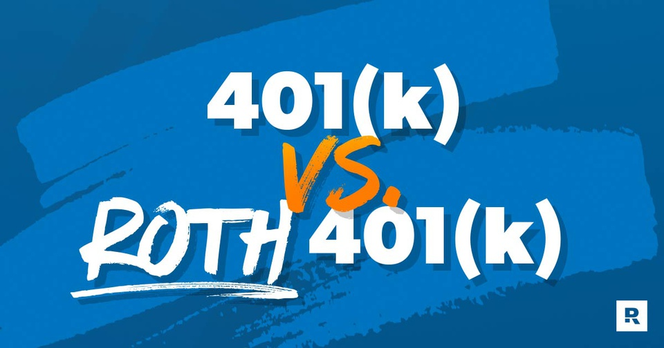 Chris Hogan explaining the difference between traditional 401(k) vs Roth 401(k).