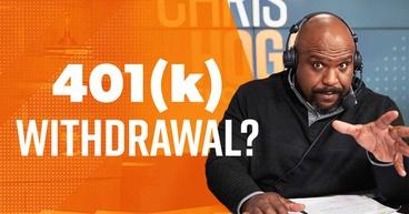 401k withdrawal?