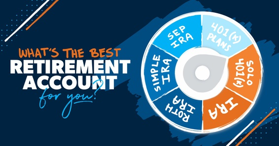 A spinning game wheel: What's the best retirement account for you?