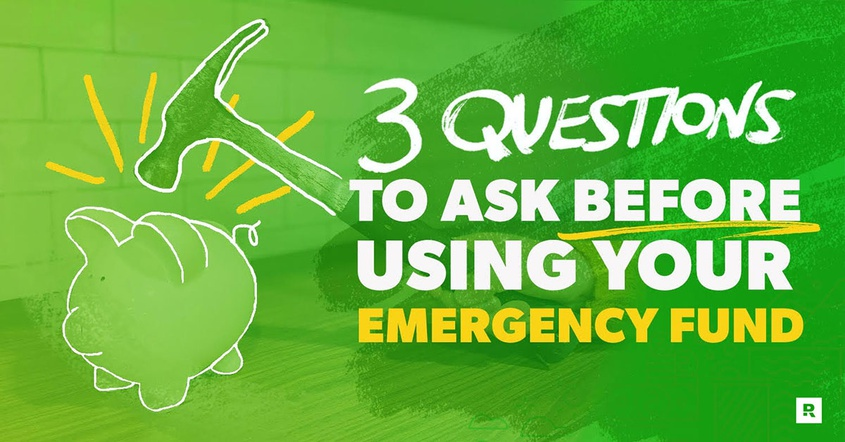 When to use your emergency fund.