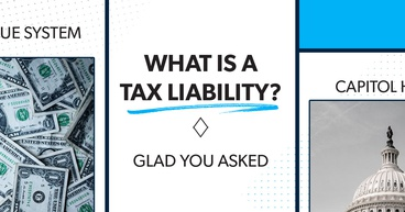 Tax liability on a game board.