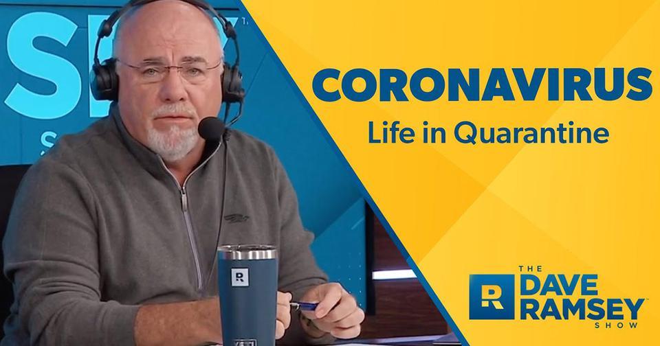 Coronavirus: life in quarantine.
