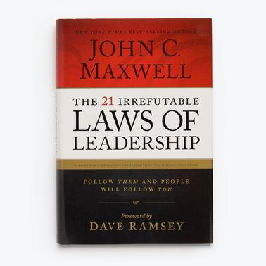The 21 Irrefutable Laws of Leadership - Hardcover Book