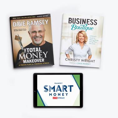 The Total Money Makeover + Business Boutique