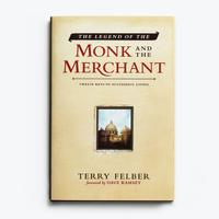 The Legend of the Monk & the Merchant - Hardcover Book
