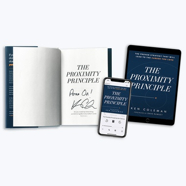 The Proximity Principle – Autographed Book + E-Book + Audiobook