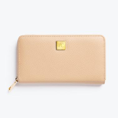 Rachel Cruze Wallet with Clip System (Tan)