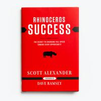 Rhinoceros Success - Hardcover Book