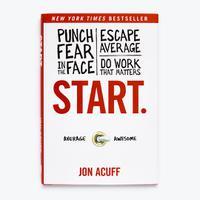Start - Hardcover Book