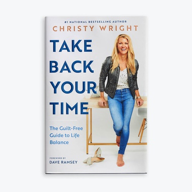 Take Back Your Time Book Cover by Christy Wright