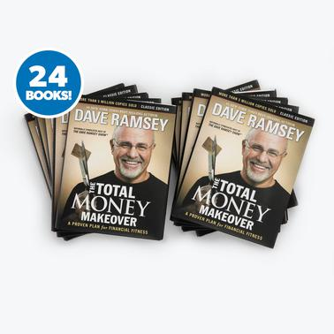 New! The Total Money Makeover - 24 Book Special