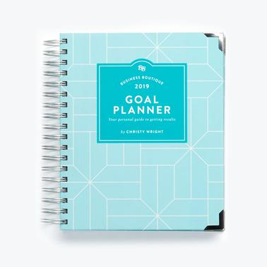 Business Boutique 2019 Goal Planner