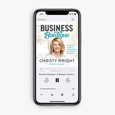 Business Boutique by Christy Wright (MP3 Audiobook Download)
