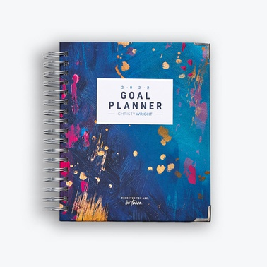 2022 Goal Planner by Christy Wright