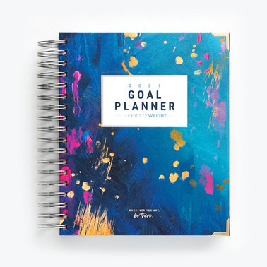 2021 Goal Planner by Christy Wright