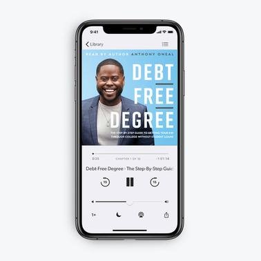 Debt-Free Degree by Anthony ONeal (Audiobook Download)