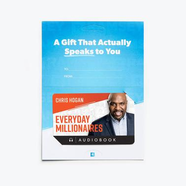 Everyday Millionaires Audiobook Gift Card