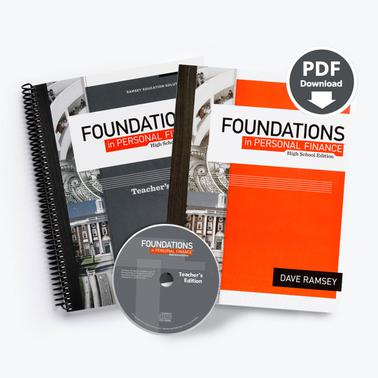 Foundations - Teacher Pack with Site-Licensed Printable PDF Student Text