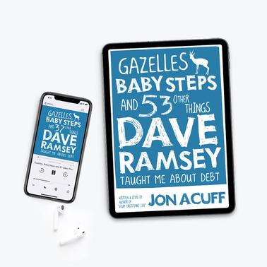 Gazelles, Baby Steps & 37 Other Things - Audiobook/PDF Combo