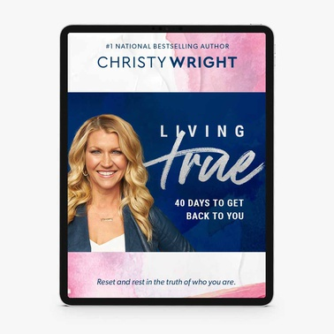 Living True: 40 Days to Get Back to You (E-Book)