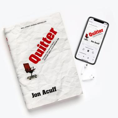Quitter - Hardcover + Audiobook