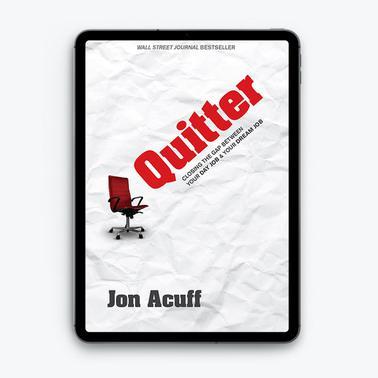 Quitter by Jon Acuff (eBook)