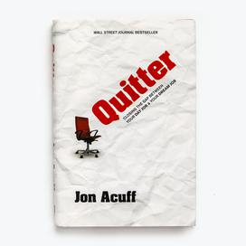 Quitter - Hardcover Book