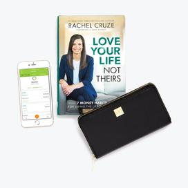 Rachel Cruze Bundle with Black Wallet + Clip System
