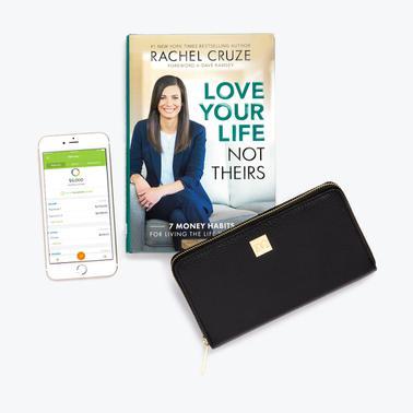 Rachel Cruze Bundle with Black Wallet + Clip System