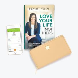 Rachel Cruze Bundle with Tan Wallet + Clip System