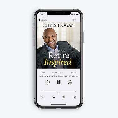 Retire Inspired by Chris Hogan (MP3 Audiobook Download)