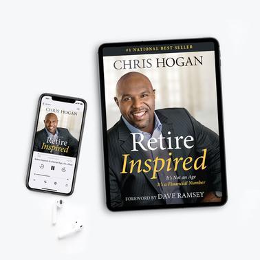 Retire Inspired by Chris Hogan (MP3 Audiobook + eBook Download)